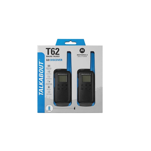 Motorola Talkabout T62 kék walkie talkie (2db)